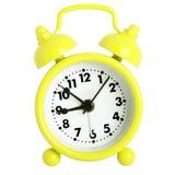 Despertador amarelo Fotos de Stock
