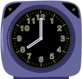 Despertador azul Fotografia de Stock