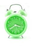 Despertador ciano da cor fotos de stock