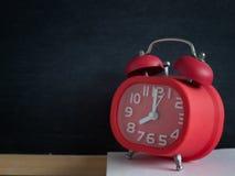 Despertador, conceito do tempo Imagens de Stock