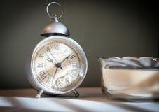 Despertador da cabeceira Fotografia de Stock Royalty Free