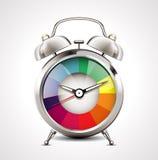 Despertador - gestão de tempo Fotos de Stock