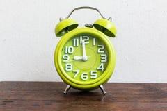 Despertador a las 9 Imagen de archivo libre de regalías