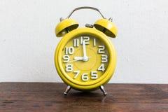 Despertador a las 9 Fotografía de archivo libre de regalías