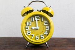 Despertador a las 9 Foto de archivo libre de regalías