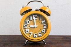 Despertador a las 9 Fotos de archivo libres de regalías