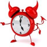Despertador mau Imagem de Stock