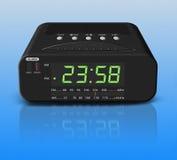 Despertador no fundo azul Foto de Stock