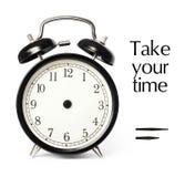 Despertador opcional del tiempo imagen de archivo libre de regalías