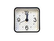 Despertador quadrado Imagem de Stock Royalty Free