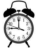 Despertador retro ilustração royalty free