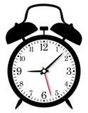 Despertador retro ilustração stock