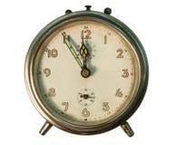 Despertador velho Imagem de Stock Royalty Free