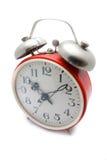 Despertador vermelho Fotos de Stock Royalty Free