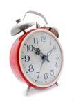 Despertador vermelho Imagem de Stock
