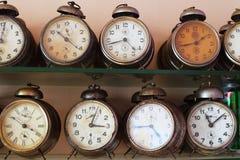 Despertadores do vintage Fotografia de Stock