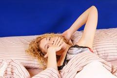 Despertar ou ir dormir? Imagem de Stock