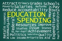 Despesa de educação ilustração do vetor
