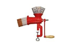 Despesa em cigarros Imagens de Stock Royalty Free