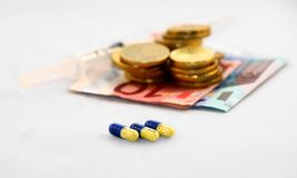 Despesa médica Fotografia de Stock Royalty Free