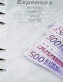 Despesas Fotografia de Stock