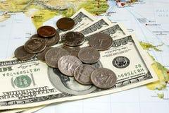 Despesas de viagem Fotografia de Stock