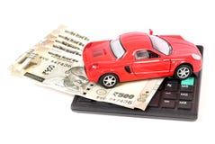 Despesas do carro foto de stock royalty free
