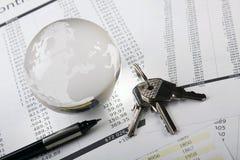 Despesas Home Fotografia de Stock Royalty Free