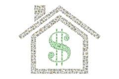 Despesas home Imagem de Stock