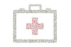 Despesas médicas Foto de Stock Royalty Free