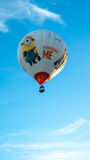 Despicable me balloon vertical Royalty Free Stock Image