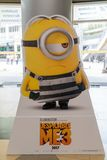 Despicable Me 3 movie poster Royalty Free Stock Photos