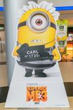 Despicable Me 3 movie poster Royalty Free Stock Photography