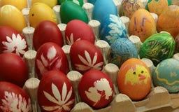 Despilfarrador de los huevos de Pascua Imagen de archivo