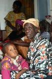 Desplace a la gente en Burundi. foto de archivo