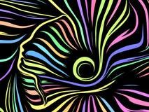 Despliegue de líneas internas libre illustration