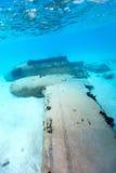 Desplome llano subacuático Imagenes de archivo