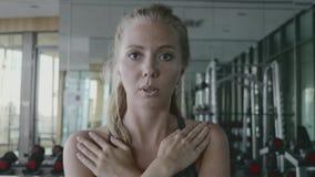 Desportista no Gym filme