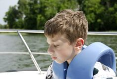 Desporto de barco fotografia de stock