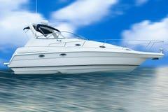Desporto de barco Imagem de Stock