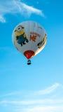 Despreciable yo vertical del globo Imagen de archivo libre de regalías