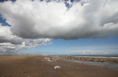 Desprecie el estuario de Humber del punto imagen de archivo