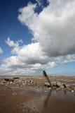 Desprecie el estuario de Humber del punto foto de archivo