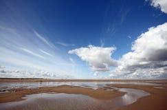 Desprecie el estuario de Humber del punto fotografía de archivo