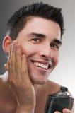 Después de afeitado Foto de archivo libre de regalías