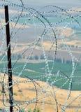 Después de alambre de púas Imagen de archivo