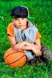 Después de baloncesto Foto de archivo