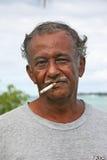 Después de cigarrillo del trabajo Foto de archivo libre de regalías