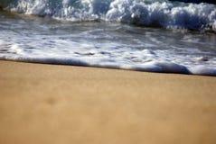 Después de espuma de las ondas Fotos de archivo