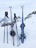 Después de esquiar Fotos de archivo libres de regalías
